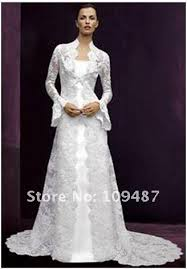 wedding dress factory outlet lace horn sleeved coat harness two wedding dress