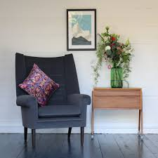 danish living room vintage danish grey armchair the joyful home company