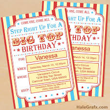click here to download a free printable circus carnival birthday