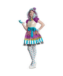 ever after high madeline hatter girls costume tv show mad hatter