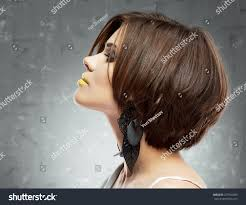 profile face portrait woman medium stock photo 227992393