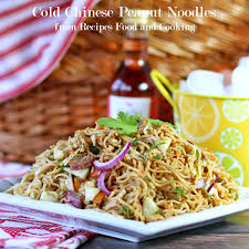 cold chinese peanut noodles sundaysupper recipes food and cooking