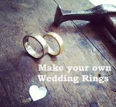 make your own wedding ring how to create your own wedding bands