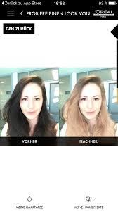 Frisuren Testen by Style My Hair App Im Test Haarfarbe Und Frisuren At