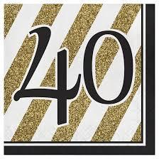black u0026 gold 40th birthday centerpiece target