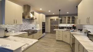 Kitchen With Maple Cabinets Vail Slab Cabinet Doors Omega Cabinetry