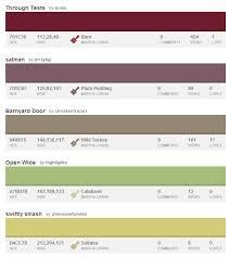 10 palettes for thanksgiving design