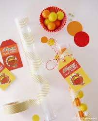 diy thanksgiving favors with free printables ideas