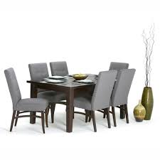 eastwood java brown wrinkle resistant dining table products