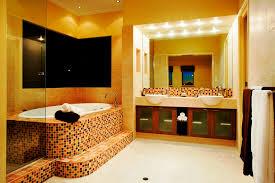 bathroom mosaic ceramic tiles bathtub deck double bathroom vanity