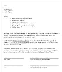 Certification Letter For Address Proof Employee Verification Letter 10 Free Word Pdf Documents