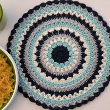 Table Place Mats Shop Crochet Table Placemats On Wanelo