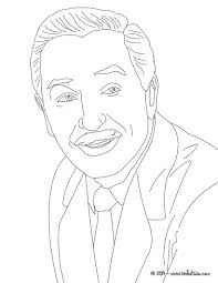 walt disney portrait coloring pages hellokids com