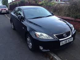 black lexus 2008 lexus is 220 d 2008 black in prestwich manchester gumtree