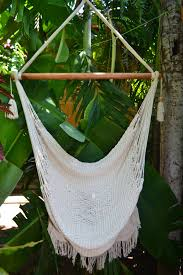 hanging porch swing chair with macrame mission hammocks
