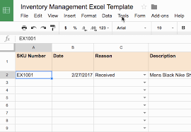 How To Create An Inventory Spreadsheet Attaching A Form To Your Inventory Management Template