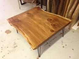 Redwood Coffee Table Live Edge Coffee Table Live Edge Table Redwood Coffee