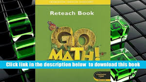 download go math reteach book grade 1 houghton mifflin