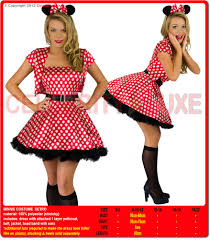 minnie mouse costume retro 70s 80s fancy dress up
