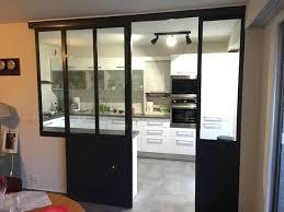 cuisine avec verriere interieur verriere coulissante pour cuisine cuisine avec verriere interieur