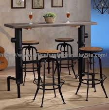 bar height table industrial industrial style bar height table used pub furniture price malaysia