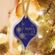 teardrop shaped personalized ornaments 5 designs