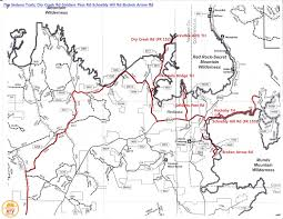 Sedona Map Soldiers Pass