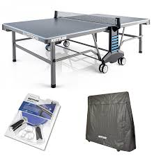 used outdoor ping pong table amazon com kettler outdoor 10 table tennis table w accessories