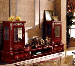 living room tv hall furniture antique design wooden tv cabinet