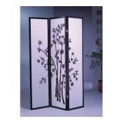 bamboo 3 panel room dividers