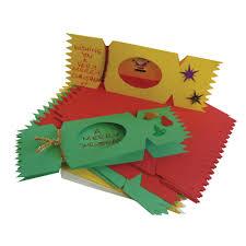 christmas cracker card pack card making festive art craft
