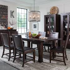Pine Dining Room Set Pine Hill Wood Rectangular Dining Table In Rustic Pine Humble Abode