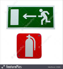 signs and info fire exit stock image i2734040 at featurepics