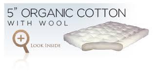 gold bond organic futon mattresses