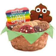 birthday baskets for him gift baskets for men l delivery gifts for him cookies by design