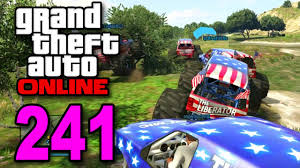 monster trucks races grand theft auto 5 multiplayer part 241 monster truck races