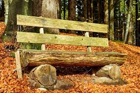 Landscape Timber Bench Free Photo Bank Bench Wooden Bench Free Image On Pixabay