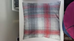 Cosy Cushions Cushion Cover In Next Cosy Red Check Tartan 14 16 18 20