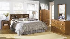 Sauder Bookcase Headboard by Sauder Oak Furniture Collection Orchard Hills Oak Bedroom
