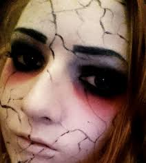 demonic doll makeup tutorial halloween youtube