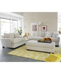 Gold Fabric Sofa Ainsley Fabric Sofa Living Room Collection Only At Macys Macy U0027s