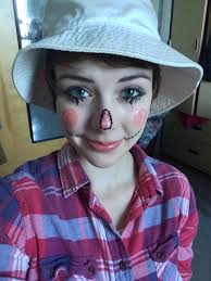 scarecrow halloween makeup 3 easy halloween makeup tutorials part 1 scarecrow her campus