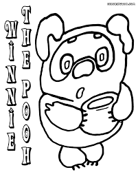 winnie pooh coloring pages coloring pages download print