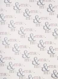 wedding wrapping paper mr mrs wrapping paper paper source
