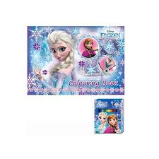 disney princess frozen colouring book blue colour