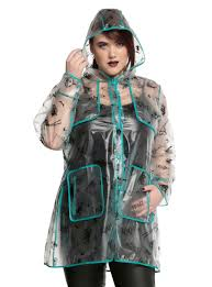 the nightmare before characters raincoat plus size