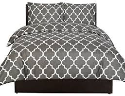Comfortable Comforters Amazon Com Printed Duvet Cover Set Brushed Velvety Microfiber