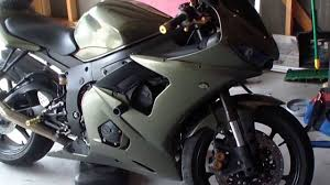 how to change oil and filter 2005 yamaha r6 youtube