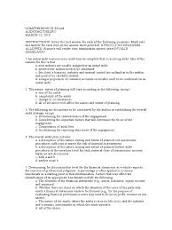 mcq auditing theory auditor u0027s report financial audit