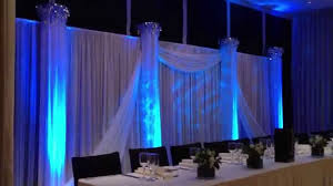 wedding backdrop with lights wedding backdrop with water ripple effect lighting